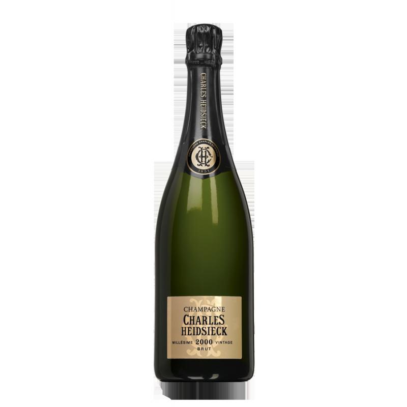 champagne charles heidsieck brut mill sime 2000 le carr des vins. Black Bedroom Furniture Sets. Home Design Ideas