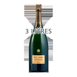 "Champagne Bollinger ""RD"" 1988 3L"