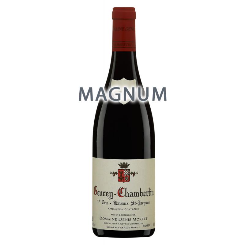 "Domaine Denis Mortet - Gevrey-Chambertin 1er Cru ""Lavaux St-Jacques"" 2010 en Magnum"