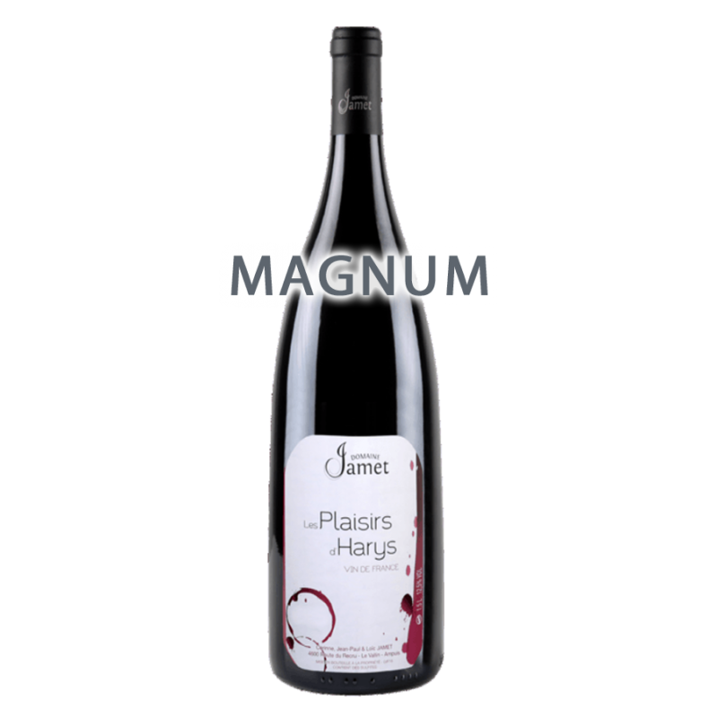 """Domaine Jamet Syrah """"Les Plaisirs d'Harys"""" 2016 MAGNUM"""