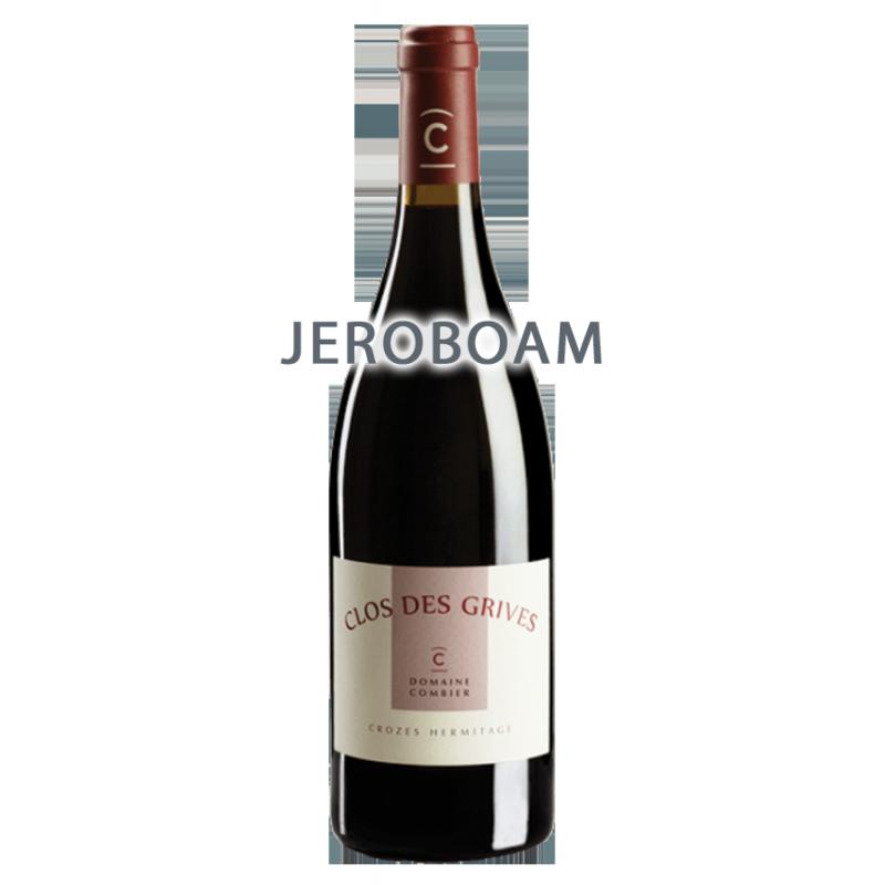 """Domaine Combier Crozes-Hermitage """"Clos des Grives"""" Rouge 2011 Jéroboam"""