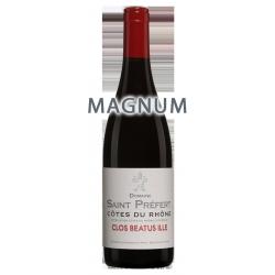 """Domaine Saint-Préfert Côtes du Rhône """"Clos Beatus Ille"""" 2018 MAGNUM"""