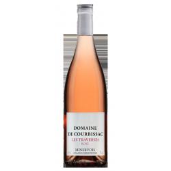 """Domaine de Courbissac Minervois """"Les Traverses"""" Rosé 2019"""