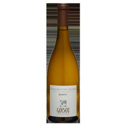 """Domaine Goisot Bourgogne Côte d'Auxerre Blanc """"Biaumont"""" 2017"""