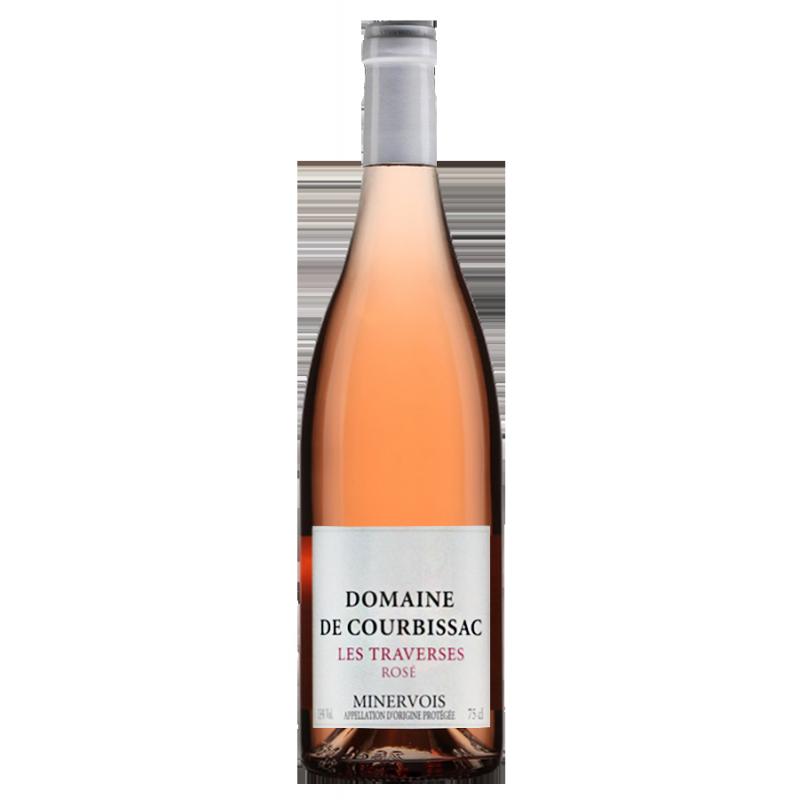 Domaine de Courbissac Minervois Les Traverses Rosé 2020
