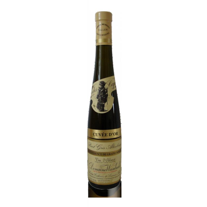 """Domaine Weinbach Pinot Gris Altenbourg Quintessence de grains nobles """"Cuvée d'Or"""" 2005 50cl"""
